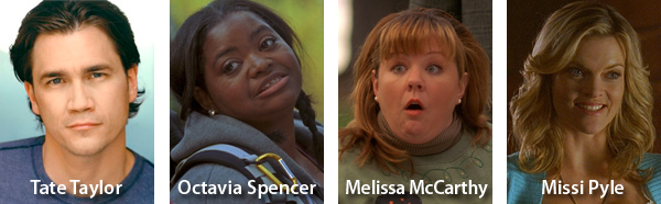 Congratulations to team of PRETTY UGLY PEOPLE for Oscar Nominations: Tate Taylor (The Help), Octoavia Spencer (The Help), Melissa McCarthy (Bridesmaids), Missi Pyle (The Artist)